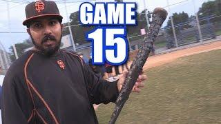 SWINGING A BURNT  BAT! | On-Season Softball League | Game 15