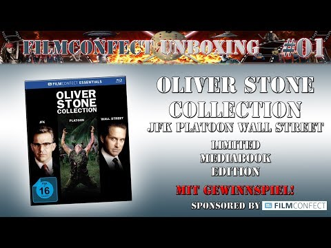 Filmconfect Unboxing #01 - Oliver Stone Collection - Mediabook