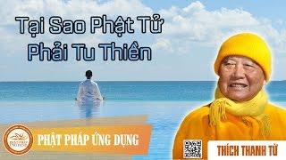 Tại Sao Phật Tử Phải Tu Thiền - Thầy Thích Thanh Từ