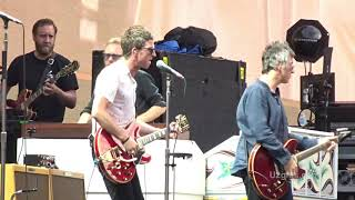 Noel Gallagher's High Flying Birds perform Little By Little live opening for U2 during their The Joshua Tree Tour concert in Rome, ...