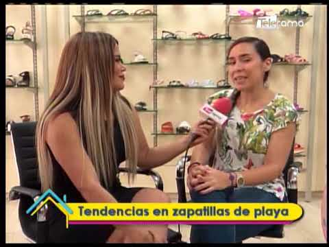 Tendencias en zapatillas de playa