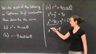 Polar To Cartesian | MIT 18.01SC Single Variable Calculus, Fall 2010