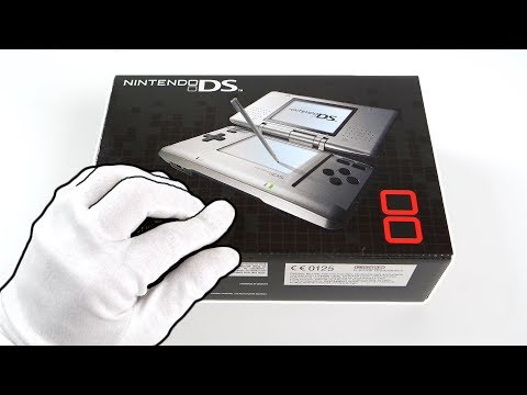 Nintendo DS Console Unboxing - 15 Years Later...