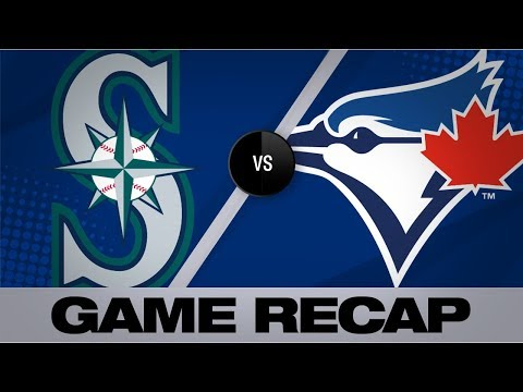 Video: Kikuchi tosses 1st shutout in 7-0 win | Mariners-Blue Jays Game Highlights 8/18/19