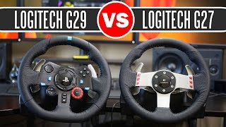 Logitech G29 Driving Force Racing Wheel vs Logitech G27 Force Feedback Wheel - Full Comparison