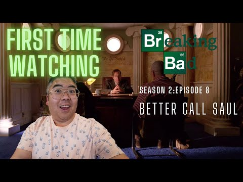 WATCHING Breaking Bad Season 2 Episode 8 FOR THE FIRST TIME EVER!