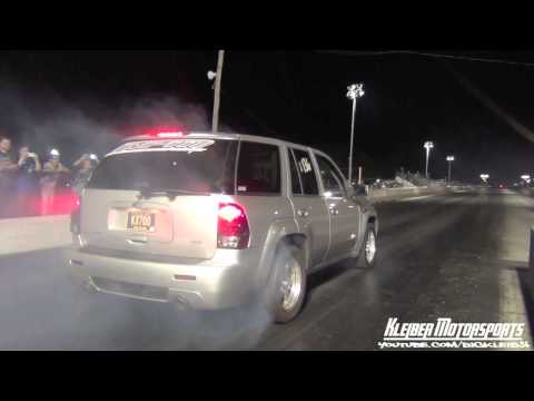 Sleeper Trailblazer turns heads at the strip