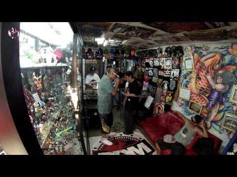BDM - Batalla de Kaiser vs Racek en tienda Santeria, Pte Alto.