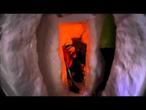 KVS-elever gravde «snøinternat»