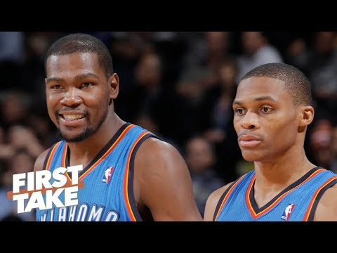 Video: Stephen A.: Russell Westbrook didn't view Kevin Durant as OKC's leader | First Take