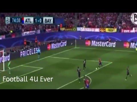 Fernando Torres Amazing hit the post - Atletico Madrid vs Bayern Munich 1-0 28/4/2016 (видео)