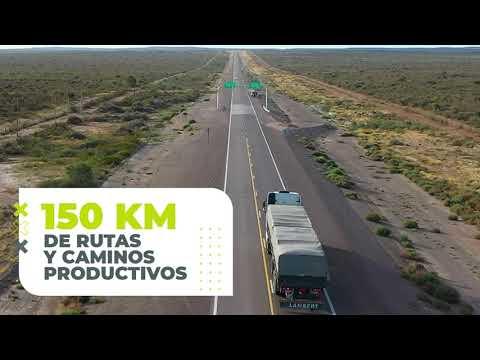 Asfaltamos y repavimentamos rutas y caminos productivos de Río Negro