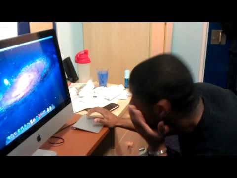 imactouch - Student thinks his iMac has gone haywire.
