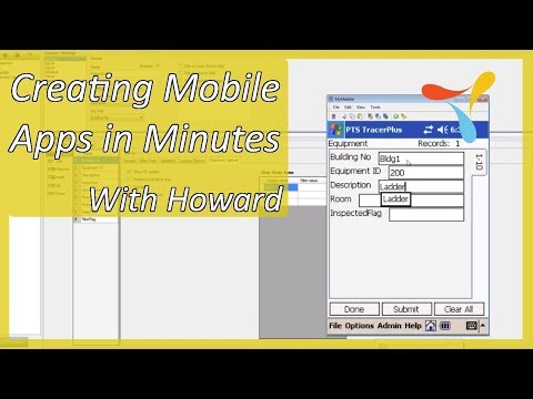Creating Mobile Apps in Minutes from Start to Finish with TracerPlus Desktop