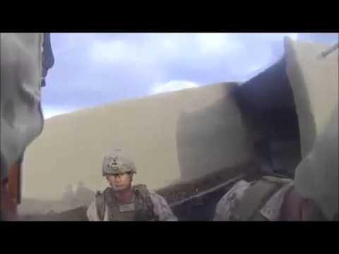 絕對武力真實上演,美國陸戰隊遭狙擊爆頭!