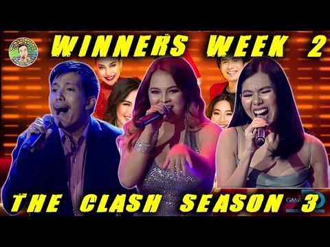 The Clash Season 3 Week 2 Winners Oct 11 2020   top10tvph