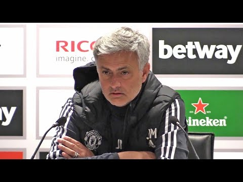 West Ham 0-0 Manchester United - Jose Mourinho Full Post Match Press Conference - Premier League (видео)