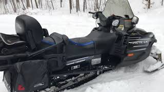 8. 2007 Arctic Cat T 660 Turbo Touring Snowmobile