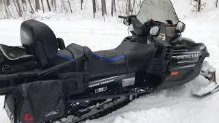 6. 2007 Arctic Cat T 660 Turbo Touring Snowmobile