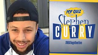 Stephen Curry hosts #NBATogether Trivia! by NBA