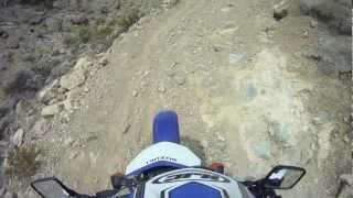 10. 2006 Suzuki DRZ 400 - Riding through the desert