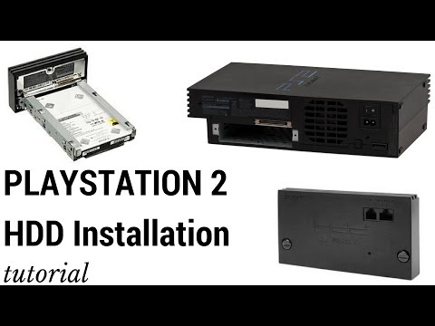 Install Hard Drive (HDD) In Playstation 2 (PS2) And Format