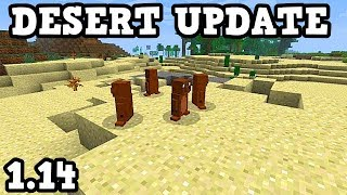 Minecraft 1.14 Desert Update Revealed: NEW TREE & NEW MOB