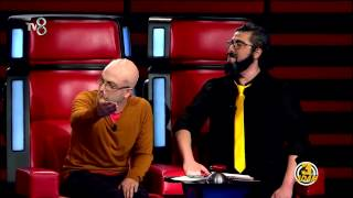 3 Adam - O Ses Türkiye Skeci 2.Parça