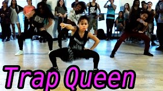 TRAP QUEEN - Fetty Wap Dance | @MattSteffanina Choreography ft 9 y/o Asia Monet! #DanceOnTrap - YouTube