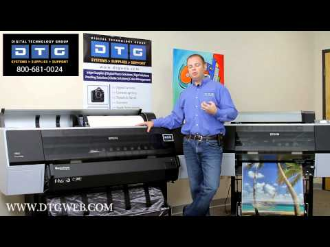 Introducing the Epson Stylus Pro 7900 and 9900 printers