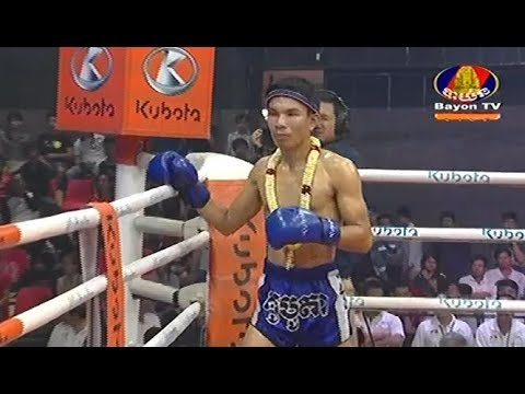 Ouch Thearith vs Roeunthai(thai), Khmer Boxing Bayon 23 Feb 2018, Kun Khmer vs Muay Thai