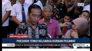 Video Suasana Haru Jokowi Temui Keluarga Korban Jatuhnya Pesawat Lion Air JT610 MP3, 3GP, MP4, WEBM, AVI, FLV Januari 2019