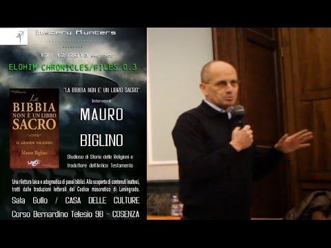 """biglino choc: """"la bibbia non è un libro sacro"""". le verità nascoste"""
