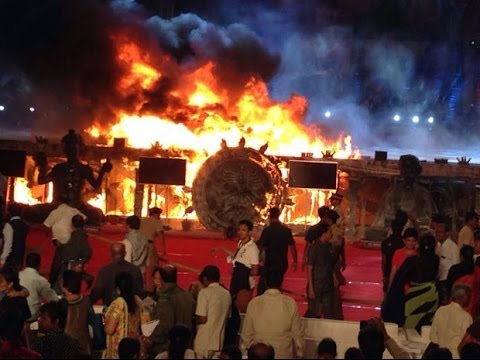 Mumbai: Massive Fire breaks out during cultural programme at 'Make in India' event