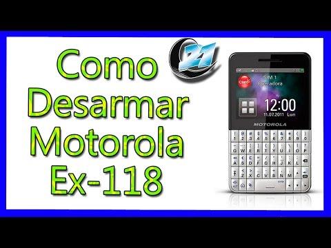 motorola ex225 , ex226 , ex118 , ex119 falla al verificar HW