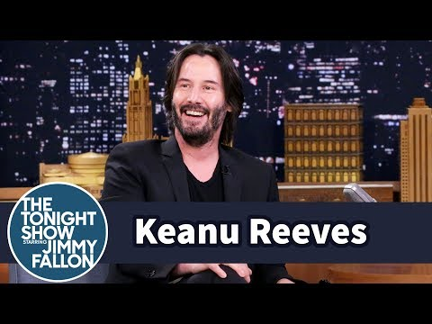 Keanu Reeves Reacts to the Keanu Reeves is immortal
