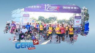 Mais de 1.400 atletas participam da 12ª Corrida e Caminhada do Cruzeiro do Sul