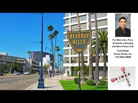 , Beverly Hills, CA Presented by Fred Nabati.