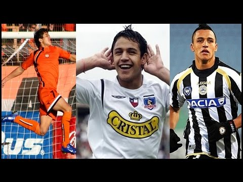 Alexis Sanchez - Before The Glory - Goals [HD]