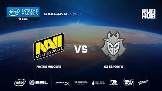 IEM Oakland - NaVi vs G2 eSports - de_overpass - [Enkanis, yxo]