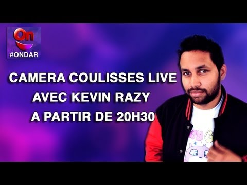 Prime - Dcrouvrez en live les coulisses du Prime #ONDAR du 23 Avril avec Kevin Razy !!