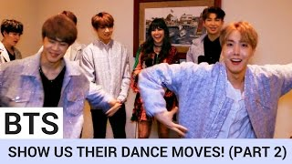 Video BTS Share Secret Pre-Show Ritual & Break Out Silly Dance Moves! (PART 2) | Hollywire MP3, 3GP, MP4, WEBM, AVI, FLV Agustus 2019