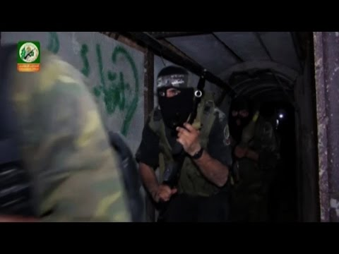 Video! - Video released by Hamas purportedly shows militants running through tunnels beneath the Gaza strip on Friday. The Wall Street Journal cannot verify the content, date or location of the video.