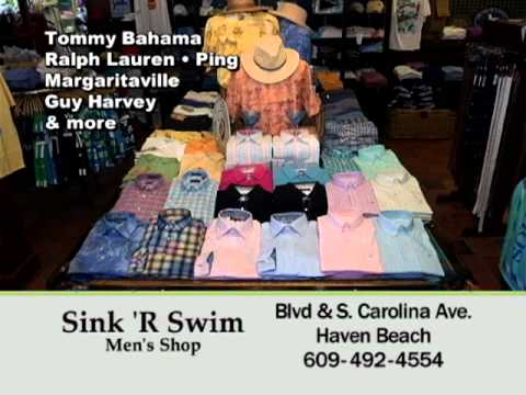 Sink 'R Swim Men's Shop