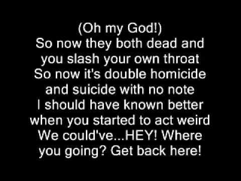 Eminem-kim lyrics