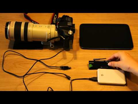 Video of DSLR Controller Wi-Fi Stick