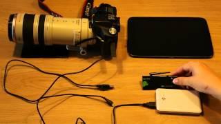 DSLR Controller Wi-Fi Stick YouTube video