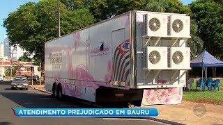 Mamógrafo passa por manutenção e interrompe atendimento durante mutirão em Bauru
