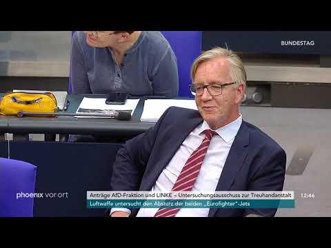 Bundestagsdebatte zum Treuhand-Untersuchungsausschuss ...