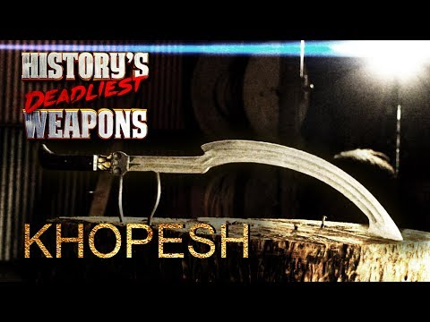 History's Deadliest Weapons - The Khopesh | Man At Arms: Art of War